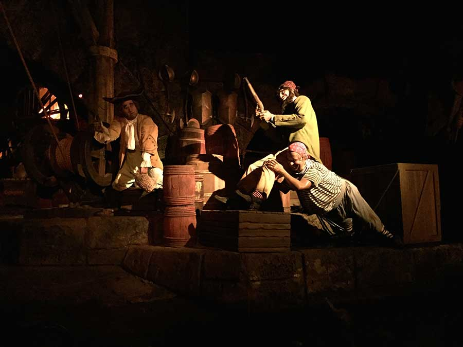 Inside the Pirates of the Caribbean